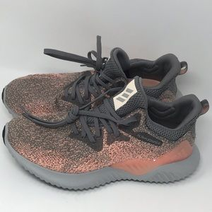 Adidas Alphabounce Pink&Grey Continental Tire Sole